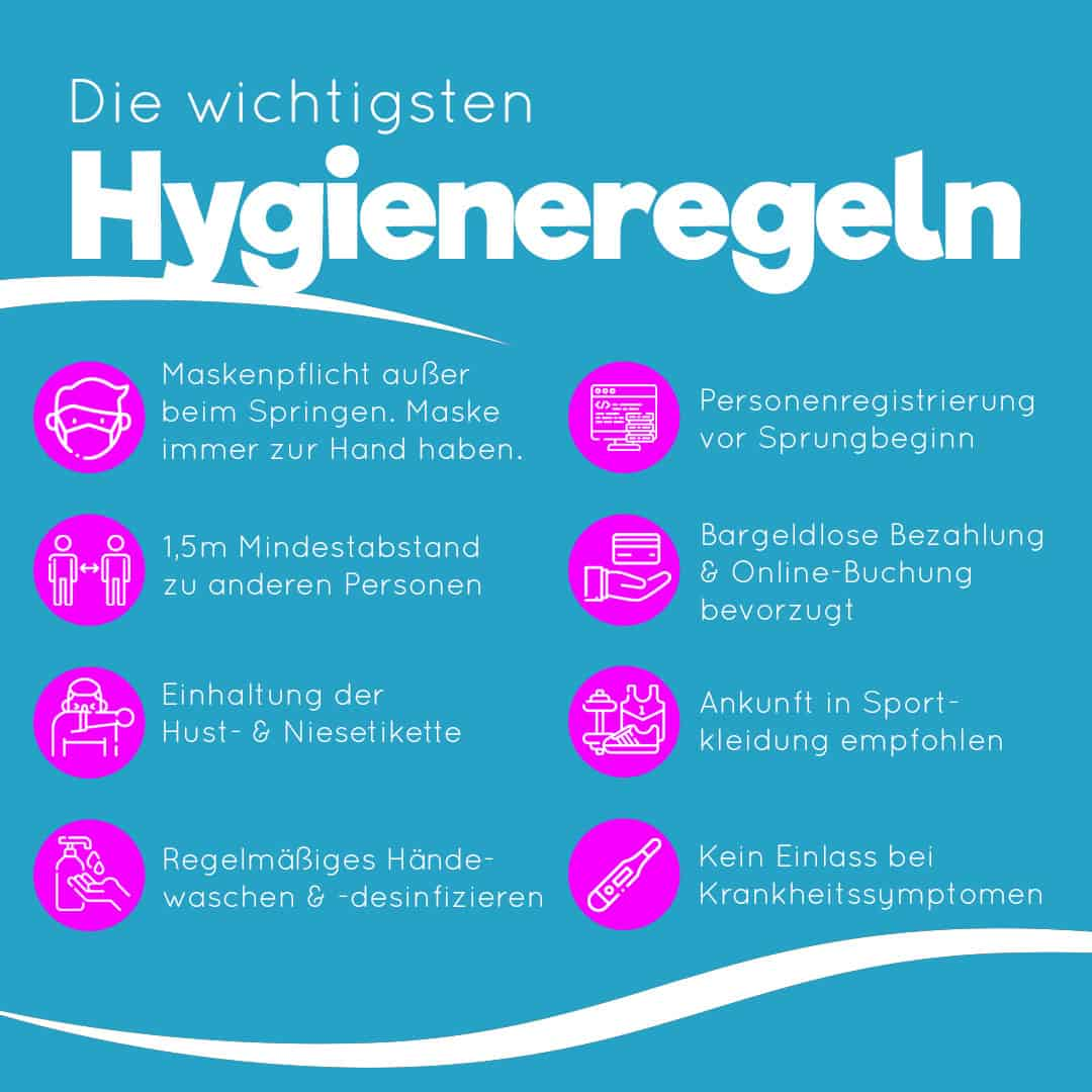 Unsere wichtigsten Hygieneregeln während Corona